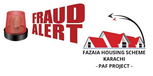 Property Scam Alert - Fazaia Housing Scheme Karachi