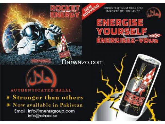 Distributor Required Energy drink - Rocket Energy - 1/3
