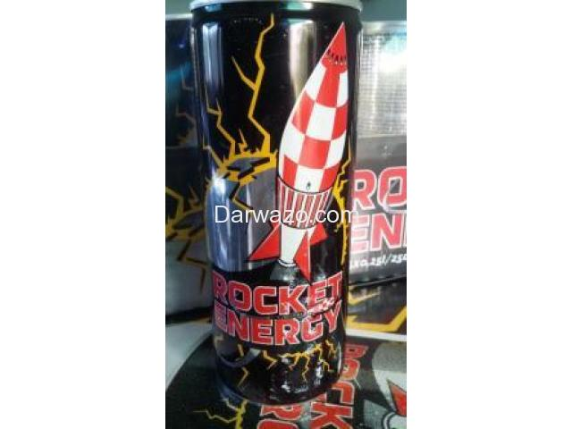 Distributor Required Energy drink - Rocket Energy - 2/3