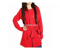 Stylish Multi Button Winter Coat for Her