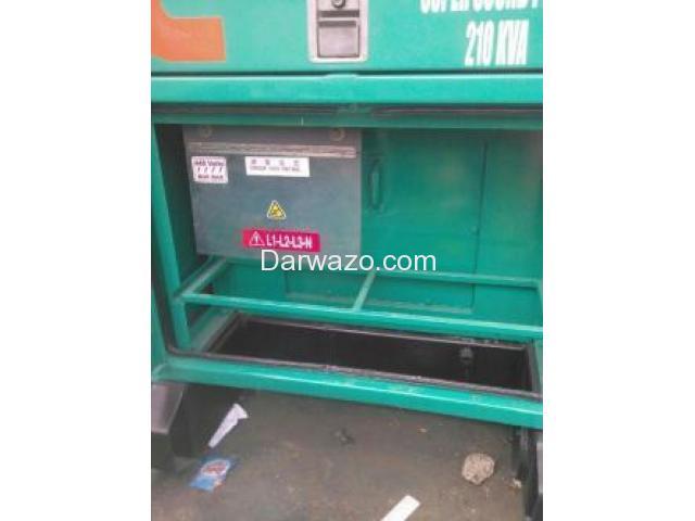 Generator for Sale - Cummins (USA) 210KVA Diesel Gen Set - 4