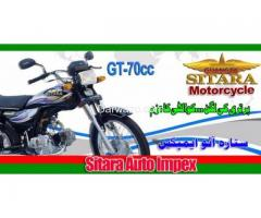 Motorcycle Brands CD 70cc, Sitara - GT70cc Installments