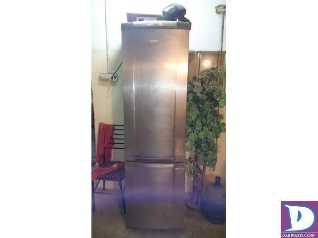 16 cubic feet Refrigerator Double Compressor Glass Rack Running - 1
