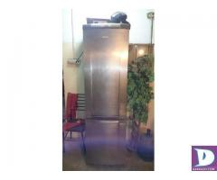 16 cubic feet Refrigerator Double Compressor Glass Rack Running - Image 1
