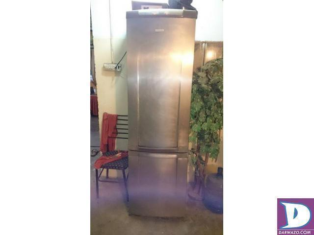 16 cubic feet Refrigerator Double Compressor Glass Rack Running - 2