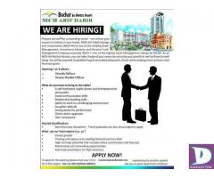 Senior Wealth Officer / Wealth Officer Required