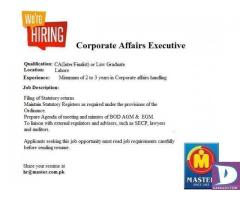 Corporate Affairs Executive