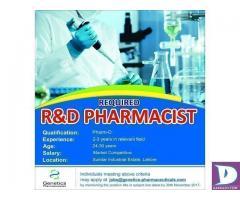 R&D Pharmacist
