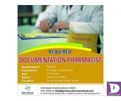 Documentation Pharmacist