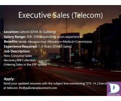 Executive Sale - Telecom