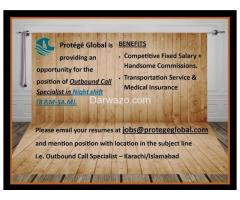 Outbound Call Specialist Required - Karachi Islamabad