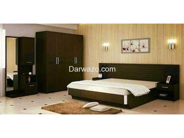 Pure Oak Veneer Bed set for Sale - 1