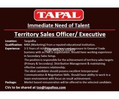 Territory Sales Officers / Executive - Sargodha