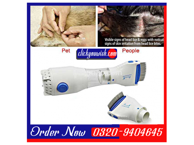 Electric Head Lice Treatment Machine-V-Comb Nit Eggs Removal - 1