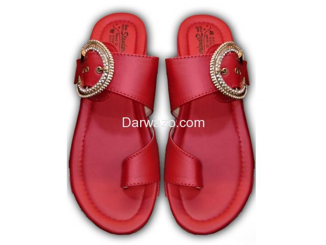 Red Formal & Casual Shoe for Women - 1
