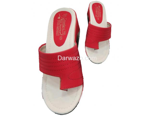 Red Ballet Flat Formal & Casual Shoe for Women - 1