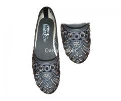 Black Design Ballet Flat Shoe Formal & Casual Shoe for Women