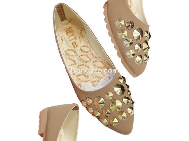 Brown Nug shoe Ballet Flat  Formal & Casual Shoe for Women - 1