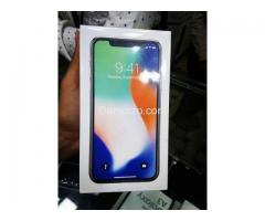 iPhone X 64GB and 256GB White and Black color - Sale