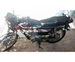 Honda CG 125 Black Colour 2015 Model For Sale
