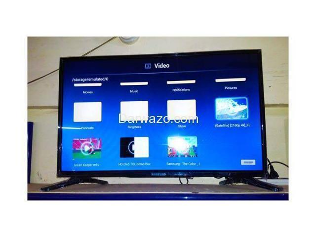 "Samsung 32"" Flat Smart Android LED TV's - 2"