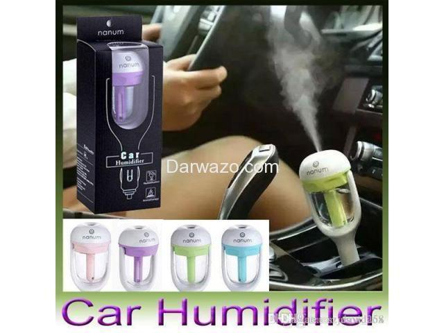 Car Humidifier And USB Charger - 1
