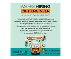 .Net Engineer Required