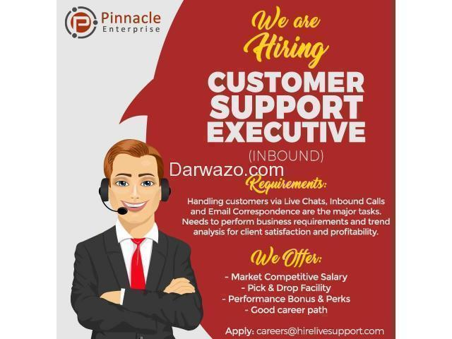 Customer Support Executive - 1