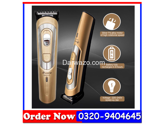 Pro Gemei Hair Trimmer GM-6112 - 1