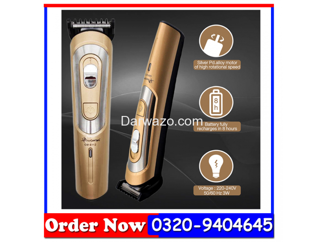 Pro Gemei Hair Trimmer GM-6112 - 2
