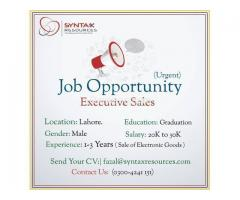 Executive Sales Required