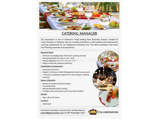 Catering Manager - 1