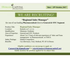 Regional Sales Manager