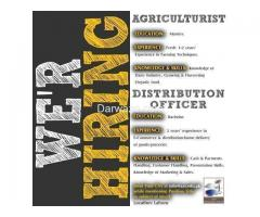 Agriculturist and Distribution Officer