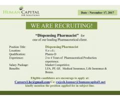 Dispensing Pharmacist