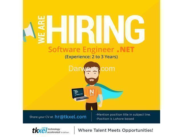 Software Engineer .Net - 1/1