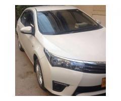 Toyota Corolla GLI Automatic 2016