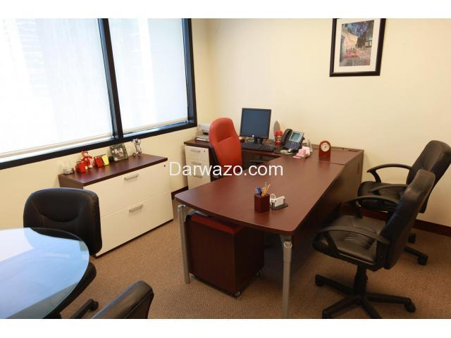 Complete Fully Furnished Office setup for Rent in Clifton area Karachi  (03332175458)) - 2