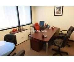Complete Fully Furnished Office setup for Rent in Clifton area Karachi  (03332175458))