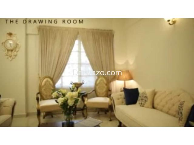 Posh New Apartment For Sale  - Navy Housing Scheme - Karsaz. - 3
