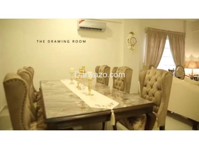 Posh New Apartment For Sale  - Navy Housing Scheme - Karsaz. - 4