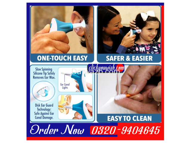 The Doctor's Ear Wax Cleaner in Lahore || Call | SMS | Whatsapp 0320-9404645 - 1/2