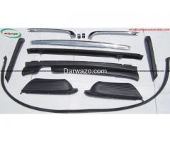 Mercedes W107 bumper kit ( R107,280SL, 380SL, 450SL ) stainless steel