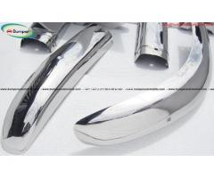 Volvo PV 544 Euro bumper kit (1958-1965) stainless steel