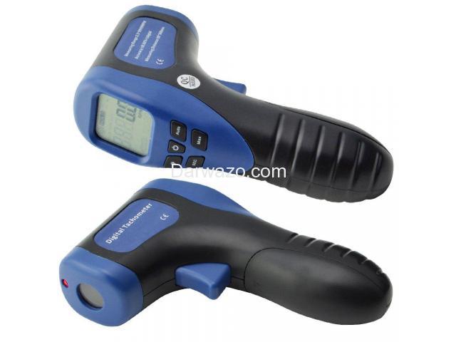 Digital Tachometer/RPM Meter/LCD Photo Tachometer/Motor Speed Gauge - 2