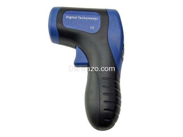 Digital Tachometer/RPM Meter/LCD Photo Tachometer/Motor Speed Gauge - 3