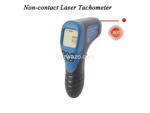 Digital Tachometer/RPM Meter/LCD Photo Tachometer/Motor Speed Gauge - 5