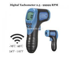 Digital Tachometer/RPM Meter/LCD Photo Tachometer/Motor Speed Gauge - Image 6