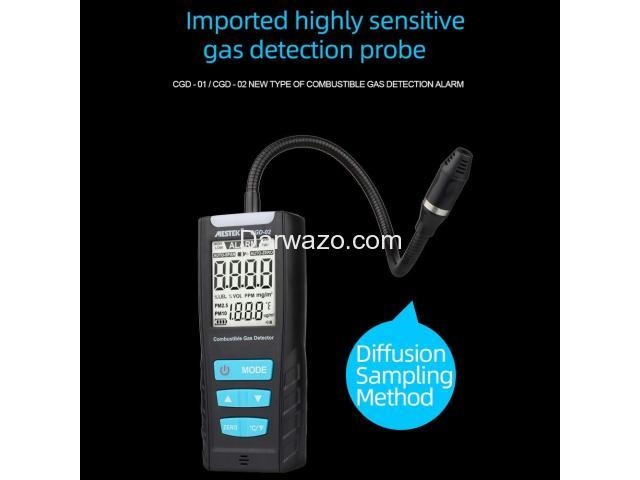 LEL Meter/LEL Gas Detector/Combustible Gas Detector/Gas Analyzer - 3
