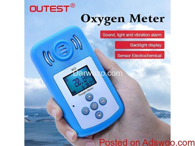 Oxygen Gas Detector (O2 Detector) - 1